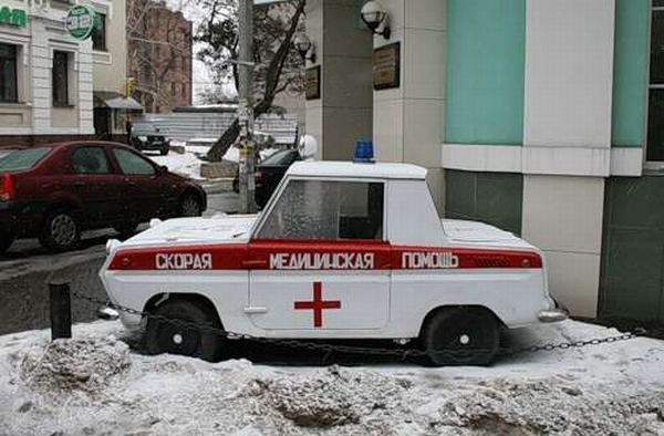 The World's Most Weird And Wonderful Ambulances -